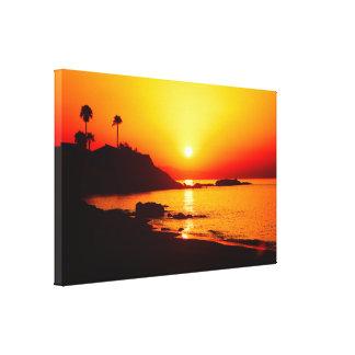 Impressão Em Tela Nascer do sol espanhol 1