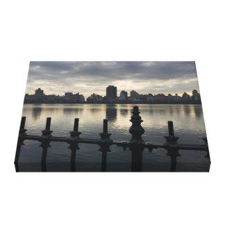 Impressão Em Tela Nascer do sol NYC da Nova Iorque do reservatório