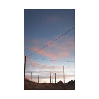 Impressão Em Tela nascer do sol, porto da angra