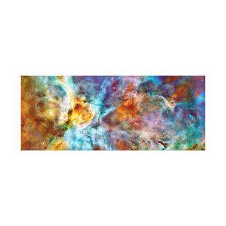 Impressão Em Tela Nebulosa colorida lindo
