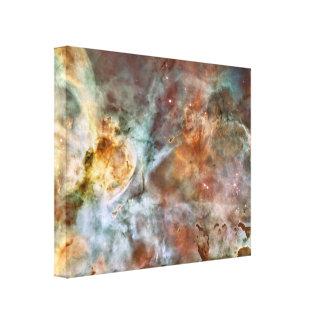 Impressão Em Tela Nebulosa do espaço
