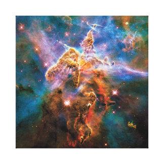 Impressão Em Tela Nebulosa místico de Carina da montanha