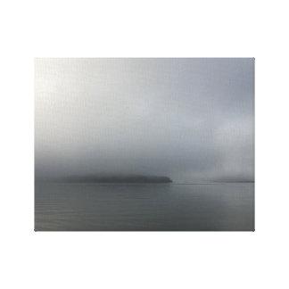 Impressão Em Tela Névoa da ilha do abrigo