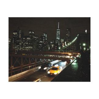 Impressão Em Tela New York