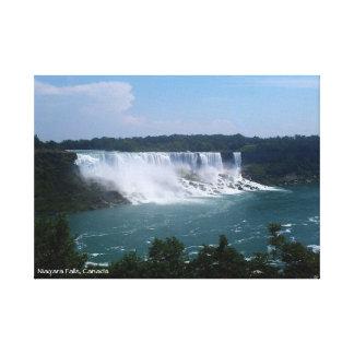 Impressão Em Tela Niagara Falls