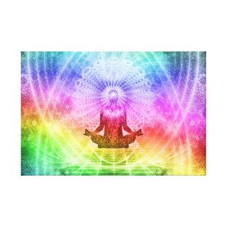 Impressão Em Tela Nirvana budista da meditação da ioga inspirado