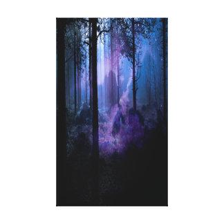 Impressão Em Tela Noite místico