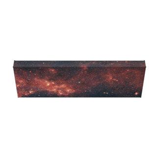 Impressão Em Tela Nosso universo o sistema solar da galáxia de Cosmo