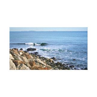 Impressão Em Tela Nova Inglaterra litoral
