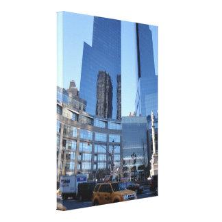 Impressão Em Tela Nova Iorque NYC da arquitetura do círculo de