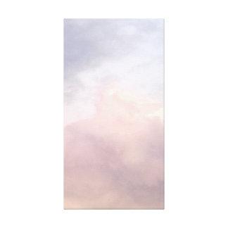 Impressão Em Tela Nuvens