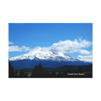 Impressão Em Tela Nuvens sobre Shasta
