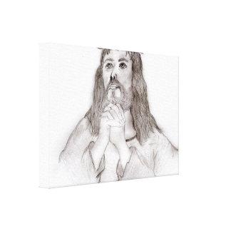 Impressão Em Tela O amor do salvador