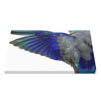 Impressão Em Tela O Aviary azul pacífico de Parrotlet voa a arte da