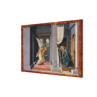 Impressão Em Tela O aviso, cerca de 1485