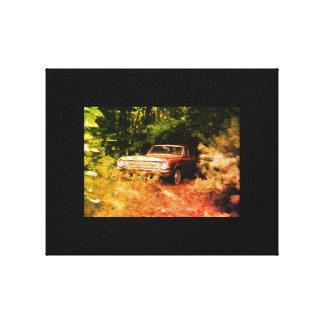 Impressão Em Tela O carro o mais assombrado do mundo - o Goldeneagle