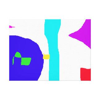 Impressão Em Tela O espaço das crianças