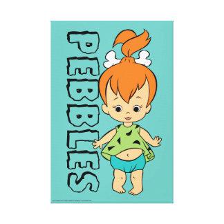 Impressão Em Tela O Flintstone dos seixos dos Flintstones |