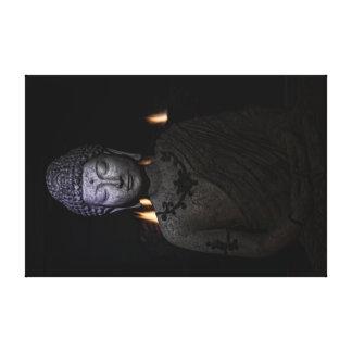 Impressão Em Tela o fogo está dentro do Buddha