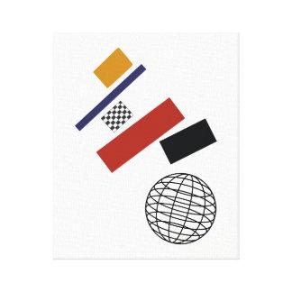 Impressão Em Tela O globo super, após Malevich
