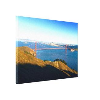 Impressão Em Tela O Golden Gate