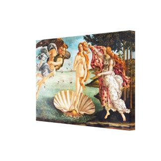 Impressão Em Tela O nascimento de Botticelli de Venus restaurou