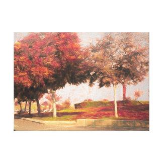 Impressão Em Tela O parque 10 de Raanana
