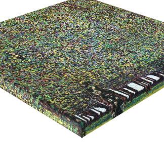 Impressão Em Tela O parque por Gustavo Klimt, arte Nouveau do