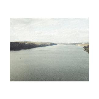 Impressão Em Tela O Rio Hudson