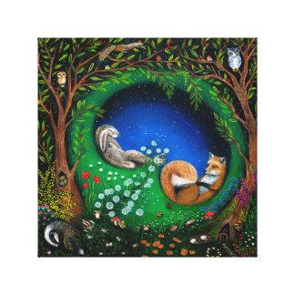 Impressão Em Tela O sonho de noite de plenos Verões