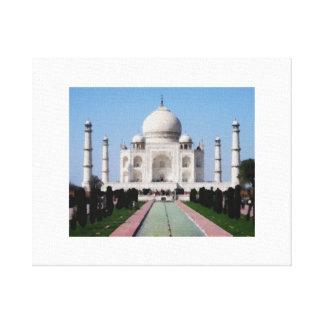 Impressão Em Tela O Taj Mahal