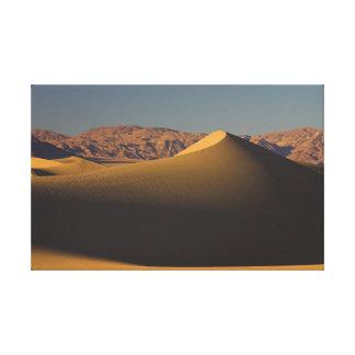 Impressão Em Tela O Vale da Morte, dunas