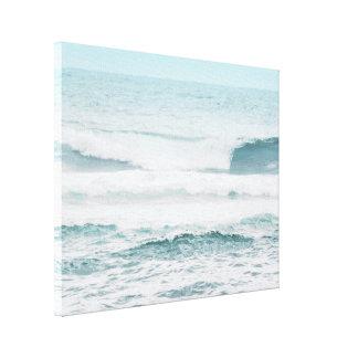 Impressão Em Tela Oceano azul em Havaí