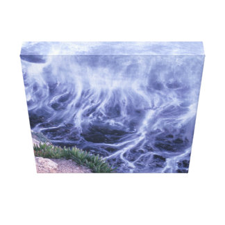 Impressão Em Tela Oceano ondulado