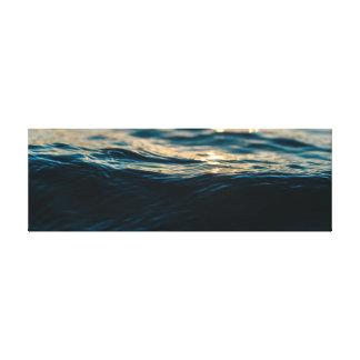 Impressão Em Tela Onda do mar