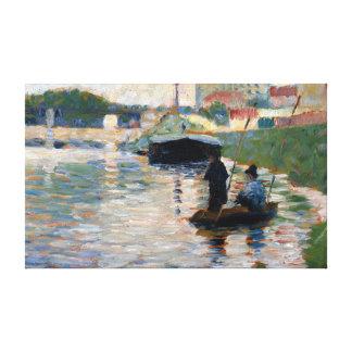 Impressão Em Tela Opinião de Georges Seurat do Seine