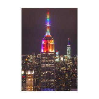 Impressão Em Tela Orgulho do Empire State Building