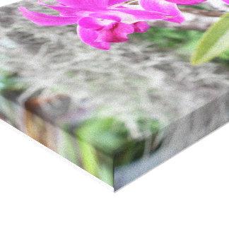 Impressão Em Tela orquídea roxa selvagem