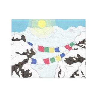 Impressão Em Tela Os Himalayas