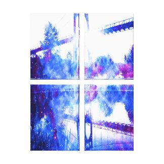 Impressão Em Tela Os sonhos do amante de uma ponte a em qualquer