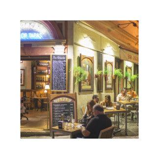Impressão Em Tela Os Tapas barram e restaurante