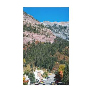 Impressão Em Tela Ouray, Colorado no outono