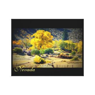 Impressão Em Tela Ouro de Nevada