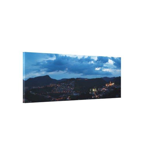 Impressão Em Tela Ouro Preto noturna