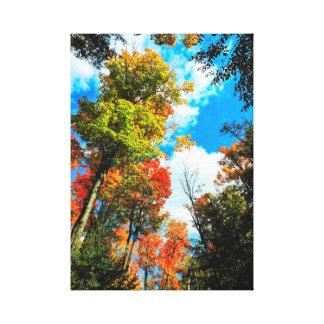 Impressão Em Tela Outono no Algonquin, Canadá