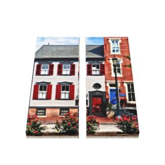 Impressão Em Tela PA de Harrisburg - Rosas na rua do estado