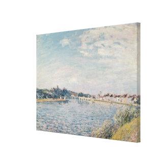 Impressão Em Tela Paisagem de Alfred Sisley |