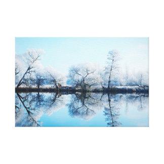 Impressão Em Tela Paisagem de aro de áspero ao rio Havel