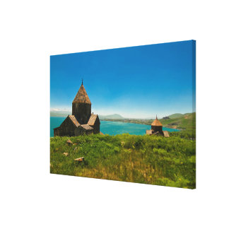 Impressão Em Tela Paisagem do monastério de Sevan
