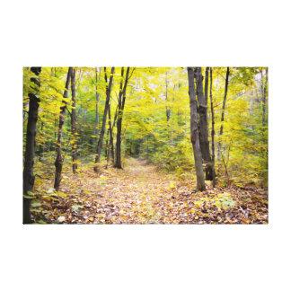 Impressão Em Tela Paisagem do outono